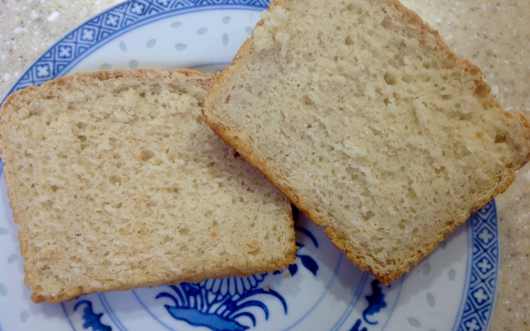 lentil flour loaf