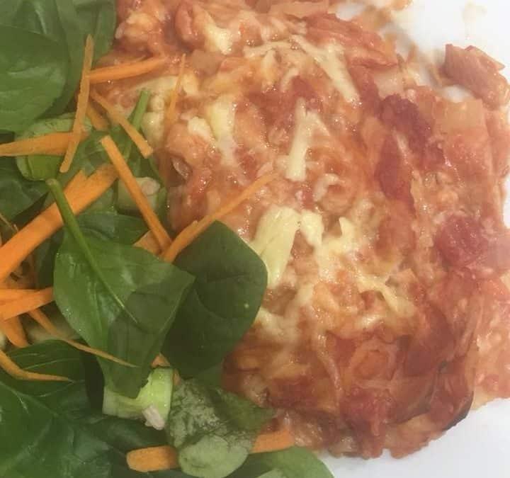 TL tomato lasagna