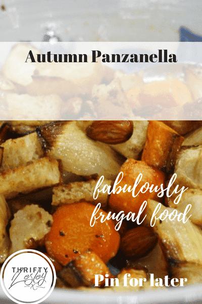 autumn panzanella