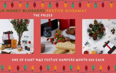 UK Money Bloggers Christmas Giveaway