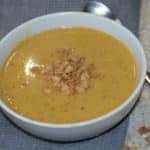 Butternut Squash, Ginger & Coconut Soup – GF, NF, DF & Vegan