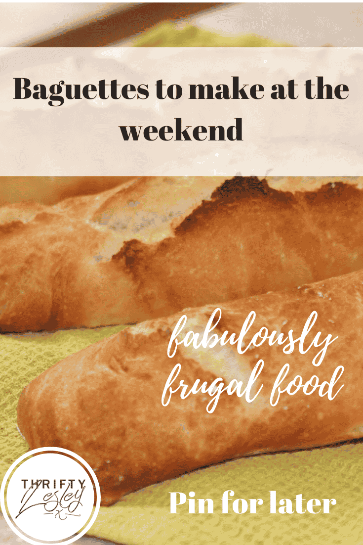a weekend baguette recipe