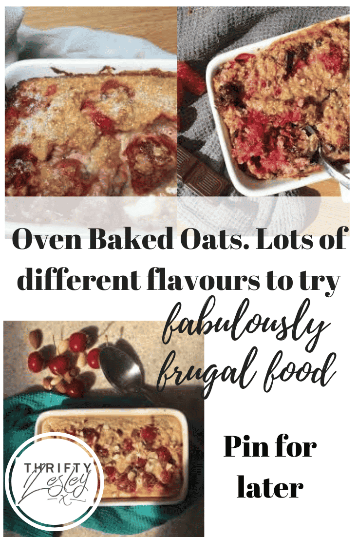 Oven Baked Oats