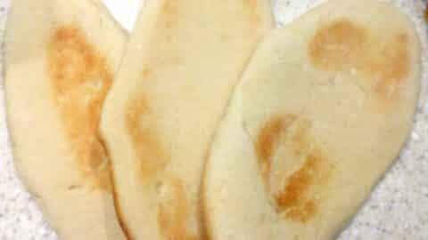 home made pitta bread