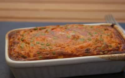 Savoury Baked Oats