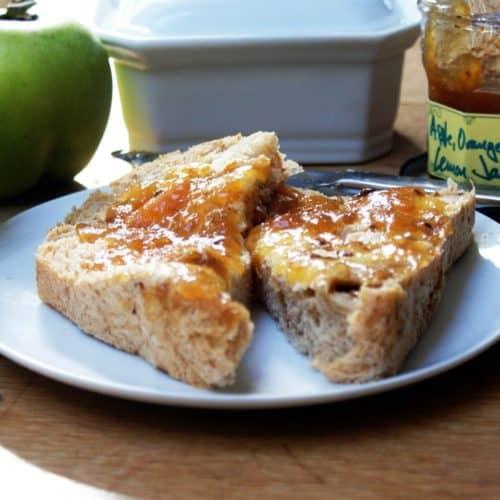 French apple jam