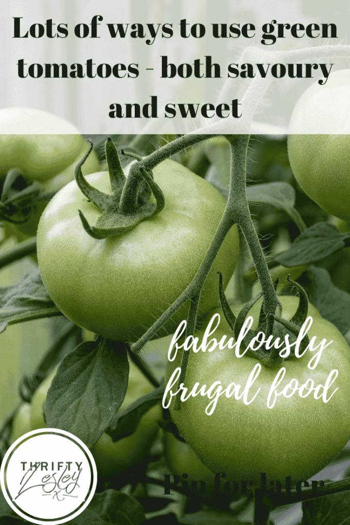 green tomatoes recipes