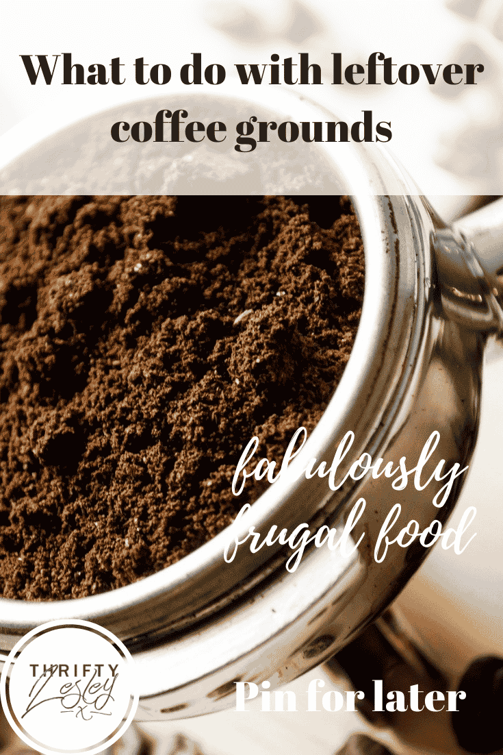 what to do with leftover coffee grounds