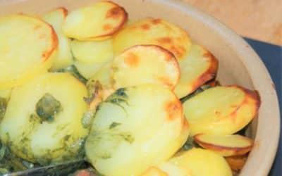 Crispy Topped Miso Vegetables