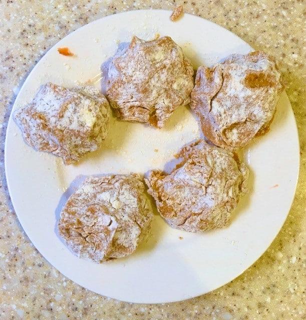 falafel - shaped