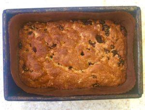 fruit loaf - baked