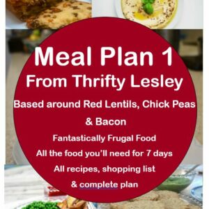 Meal Plan 1 ebook cover